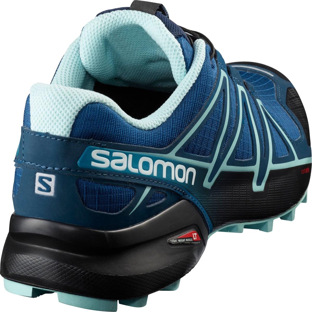 Salomon Speedcross 4 Wide Women's PoseidonEggshell BlueBlack