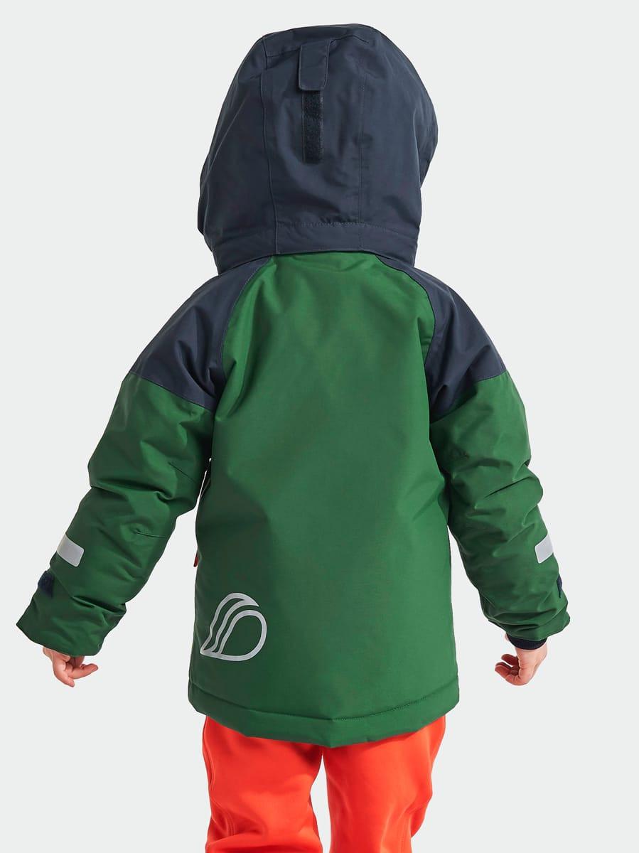 Didriksons Lun Kids Jkt 2 Leaf Green | Fjellsport.no