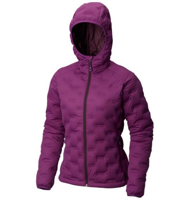 aa662194 Mountain Hardwear Women's Stretchdown™ DS Hooded Jacket Cosmos Purple ...