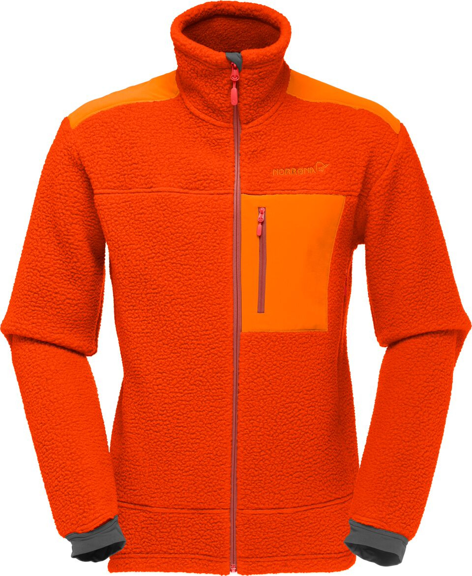 431fb1be Norrøna Trollveggen Thermal Pro Jacket (M) Burnt Orange | Fjellsport.no