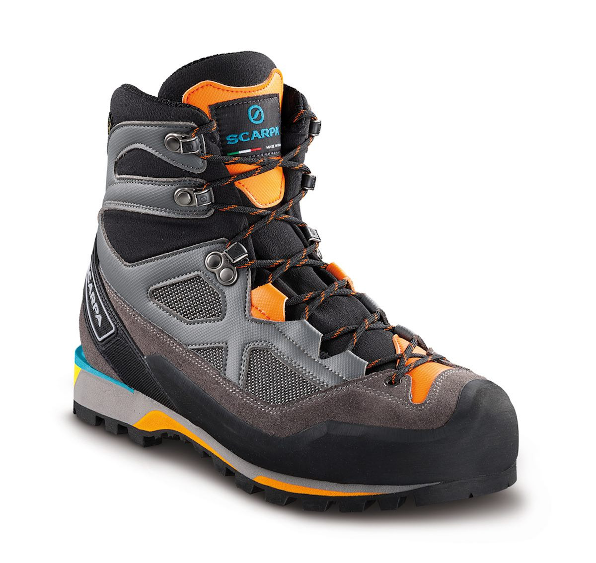 dcec4eb2 Scarpa Rebel Lite Gtx Smoke-Papaya | Fjellsport.no