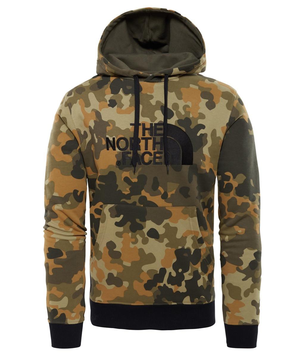 c03d0e68 ... The North Face Men's Drew Peak Pullover Hoodie-Eu New Taupe Green  Macrofleck Pr ...