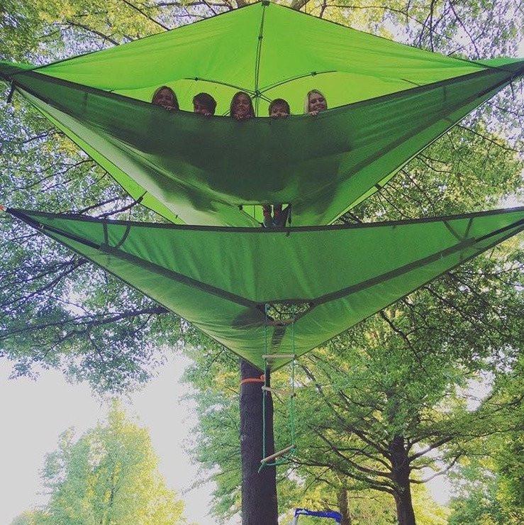 Tentsile Vista Forest Green | Fjellsport.no