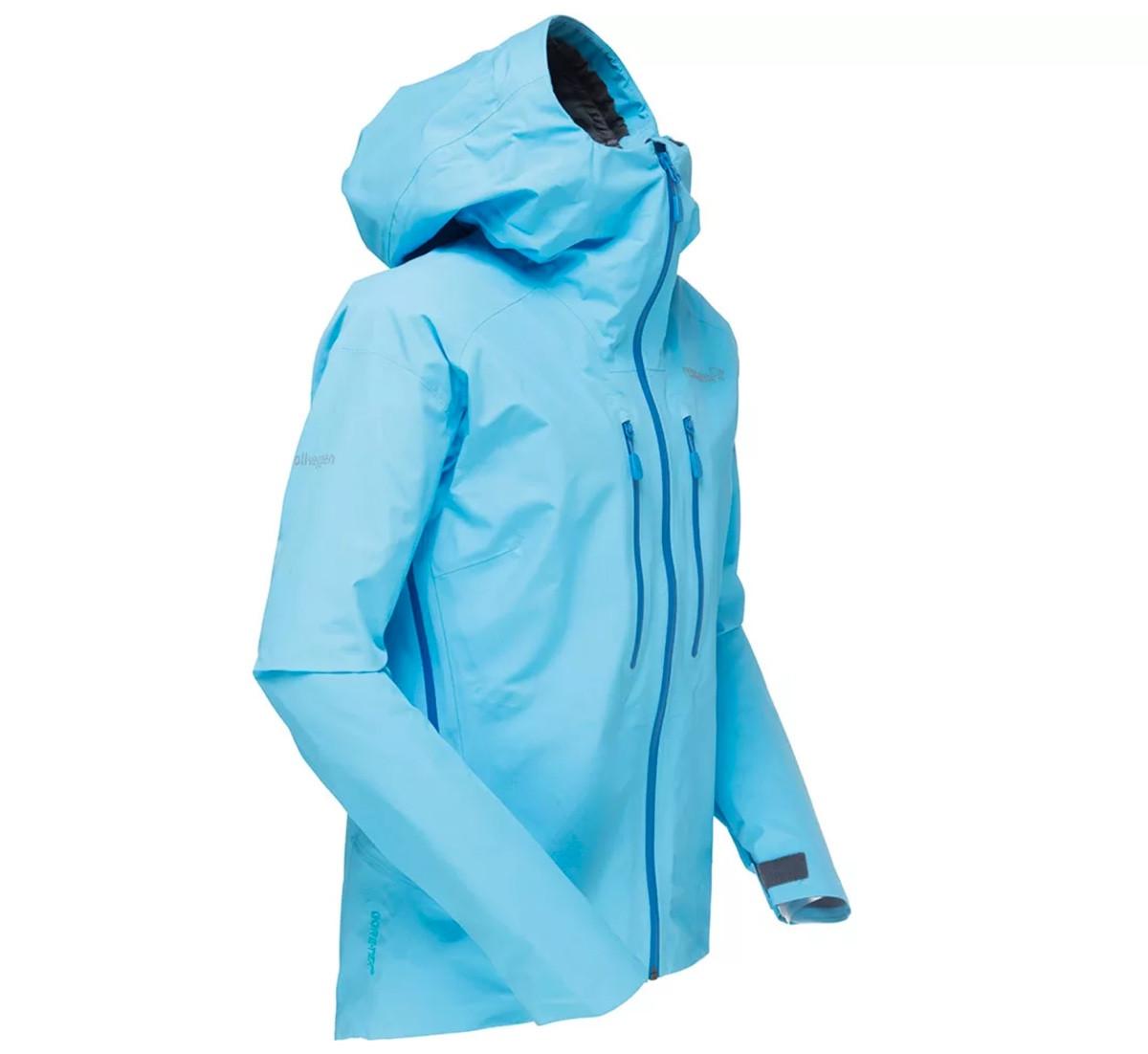 Norrøna Trollveggen Gore Tex Light Pro Jacket (W) Royal Lush