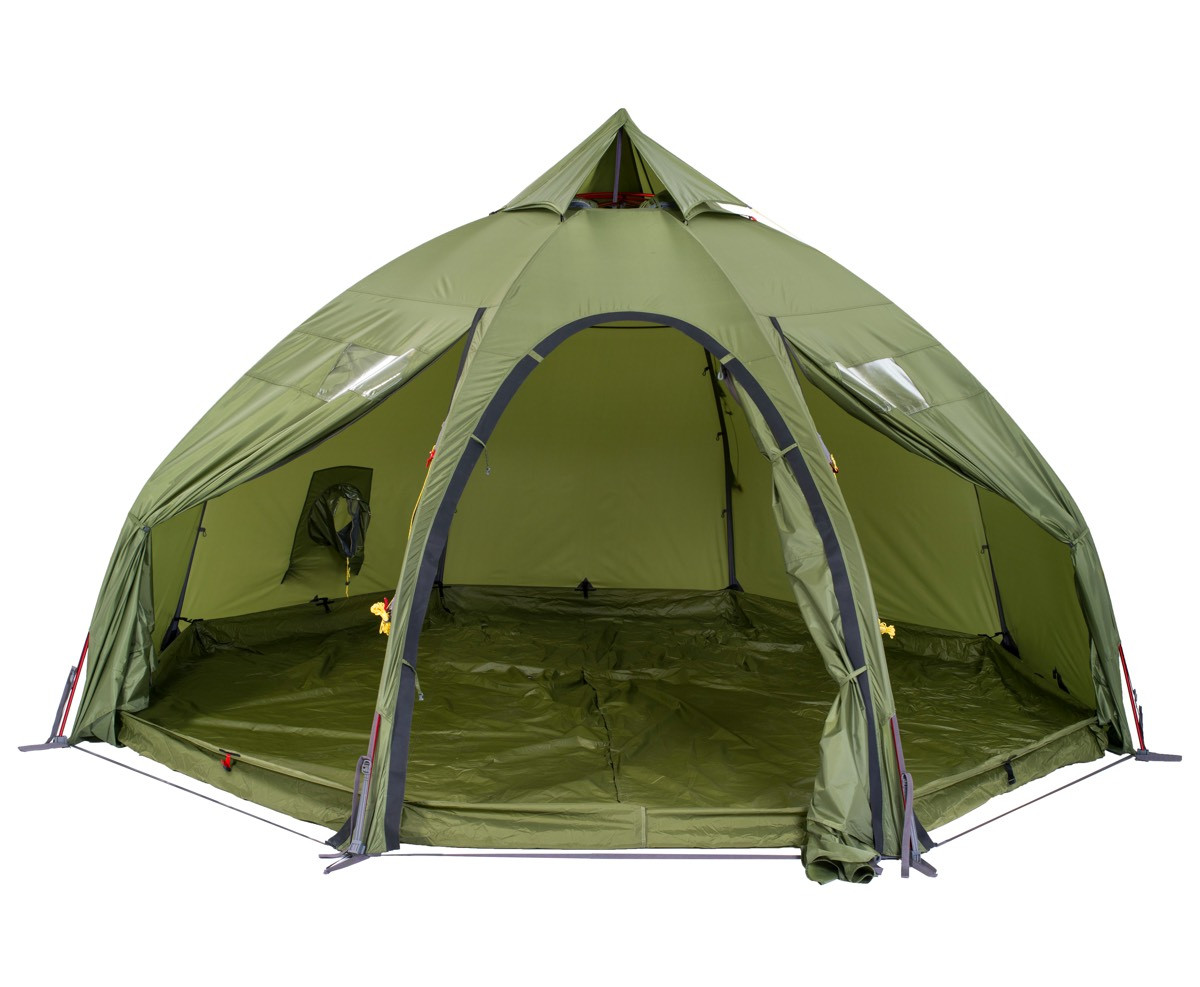 Helsport Varanger Dome 4 6 Outertent Incl. Pole Green
