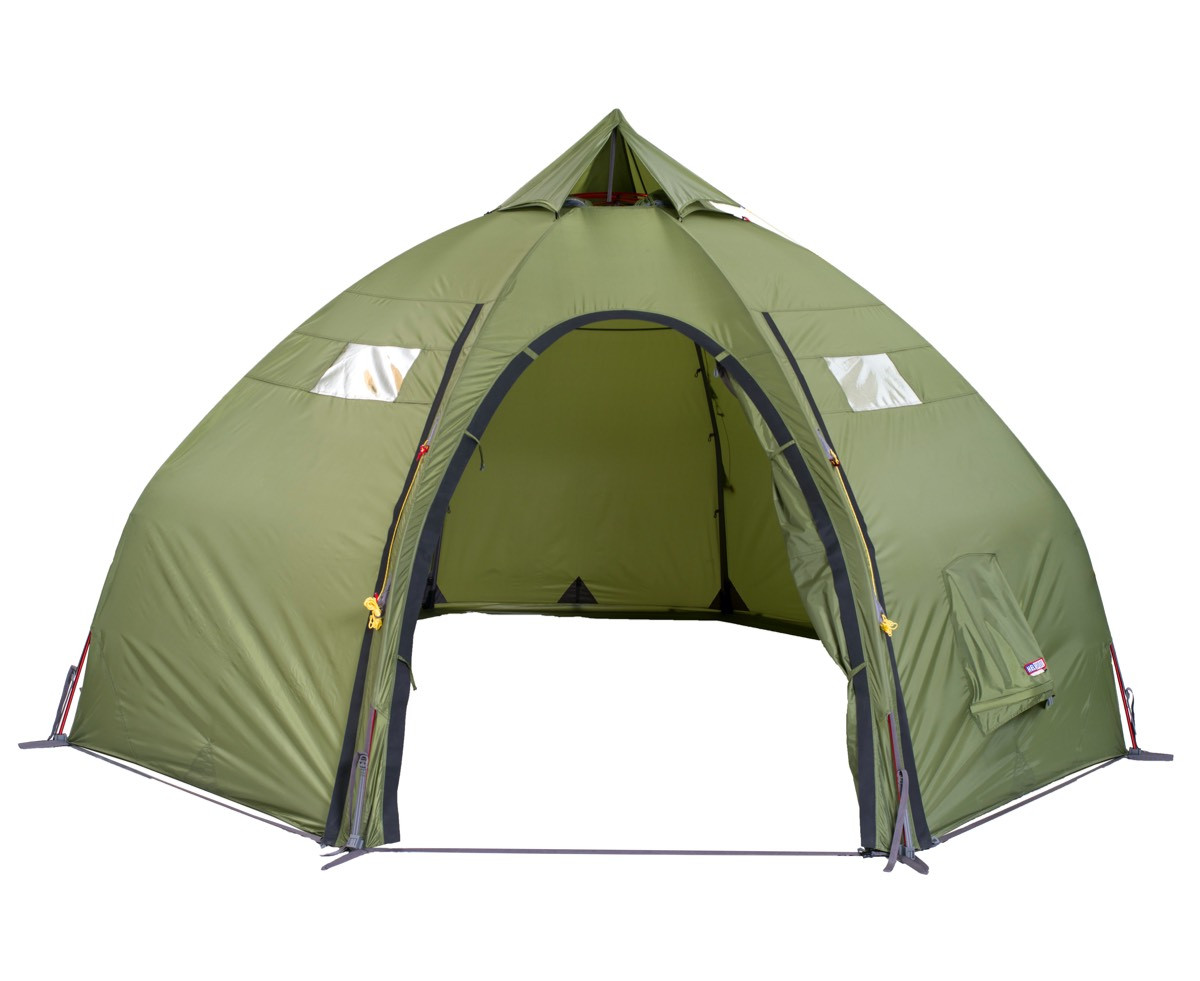 Helsport Varanger Dome 8 10 Outertent Incl. Pole Green