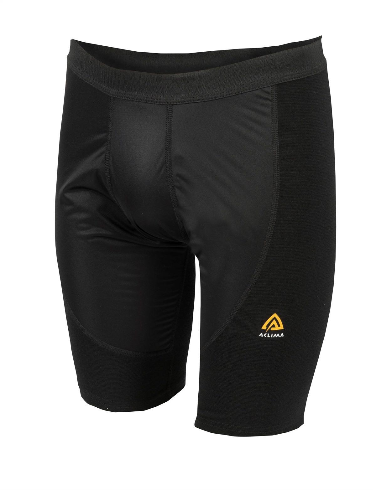 f9ee1139 Aclima Ww Long Shorts W/Windstop Man Black   Fjellsport.no