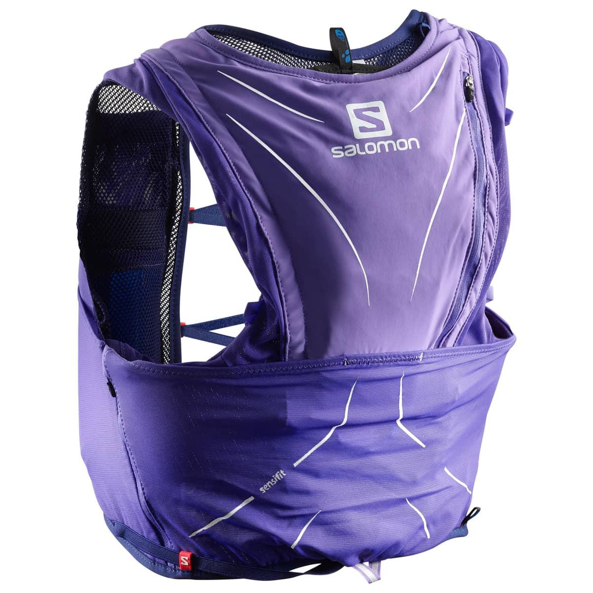 570fa7bc7d ... Salomon Bag Adv Skin 12 Set Purple Opulence/Medieval Blue ...