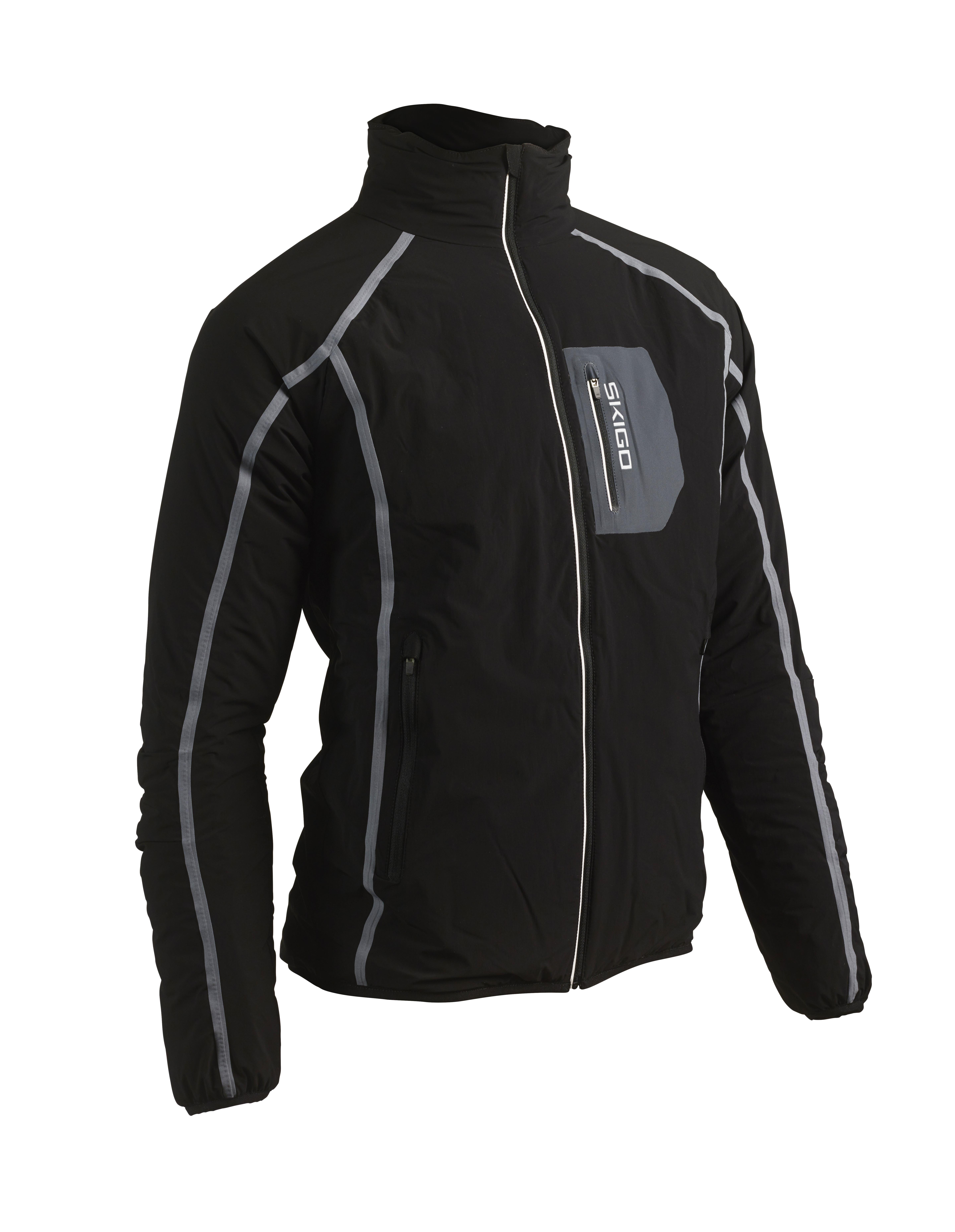 3b431af0 SKIGO Elevation Stretch Jacket Herre Sort | Fjellsport.no
