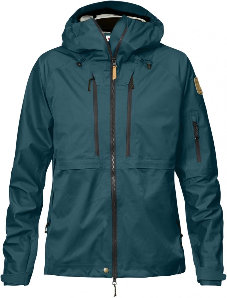 f4bea2e2 Fjällräven Keb Eco-Shell Jacket Women's Glacier Green | Fjellsport.no