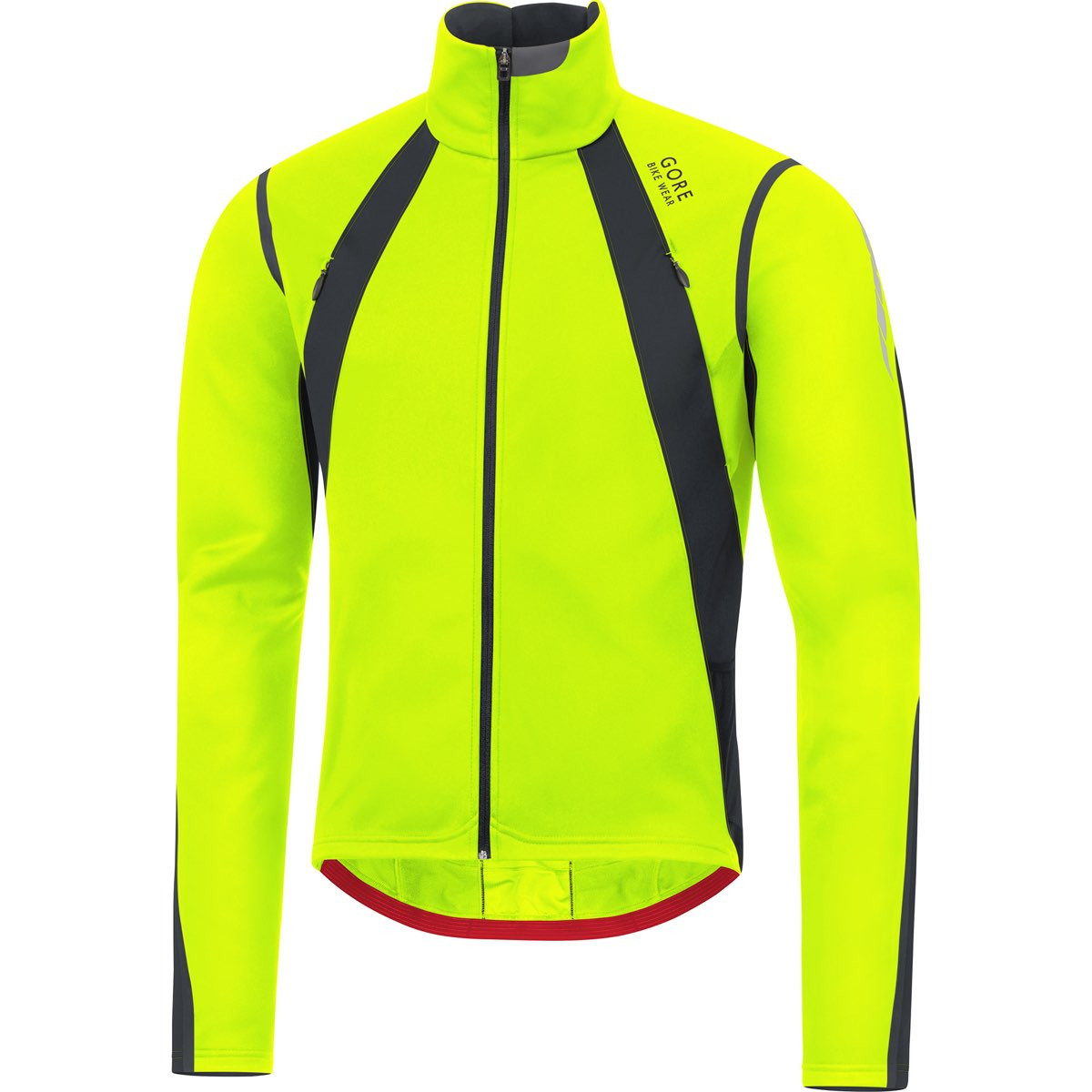 Bike Gore Wear Neon Oxygen Jacket Windstopper Gore YellowBlack QsrBtdChxo