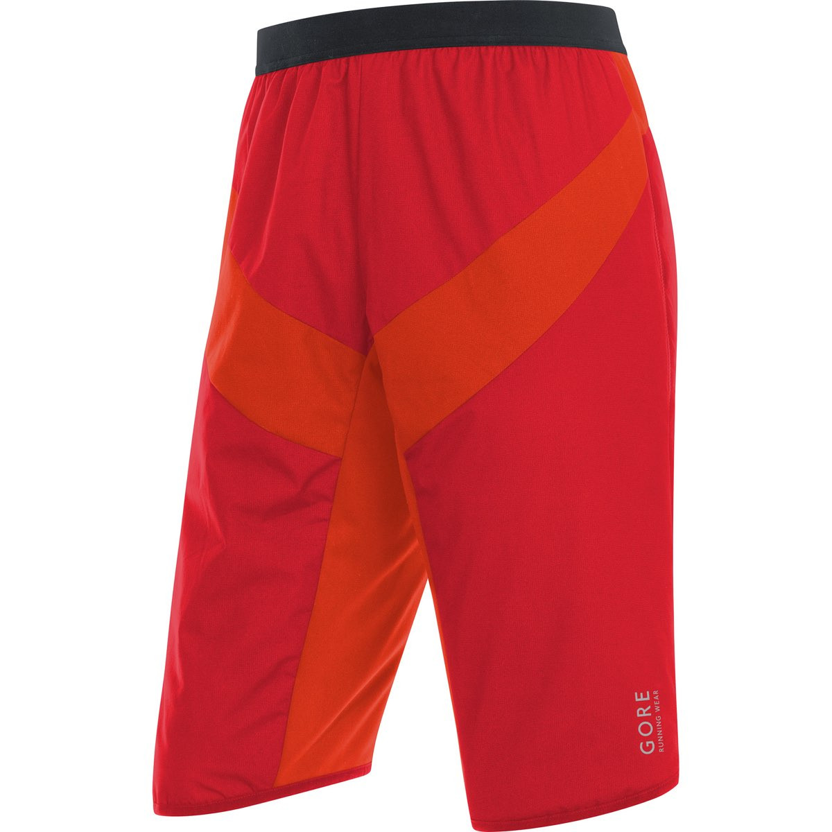 ded18c86 ... Gore Running Wear Essential Gore Windstopper Insulated Shorts  Red/Orange ...