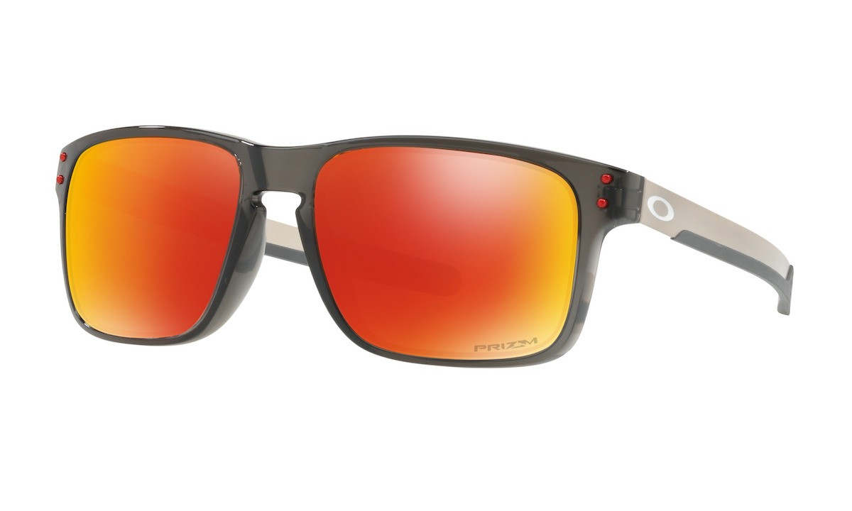 d2be305c7c8a ... Oakley Holbrook Mix Prizm Ruby Polarized Grey Smoke ...