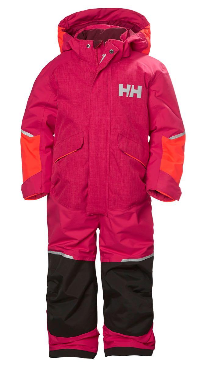 42eecabb Helly Hansen K Snowfall Ins Suit Bright Rose | Fjellsport.no