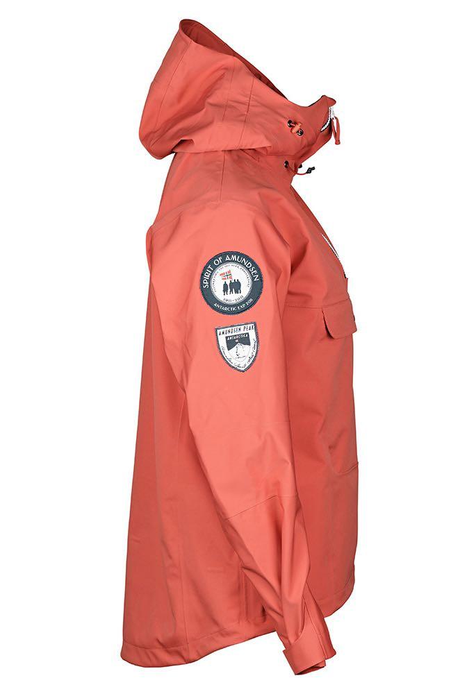 Amundsen Peak Anorak Womens Faded Navy   Platou Sport