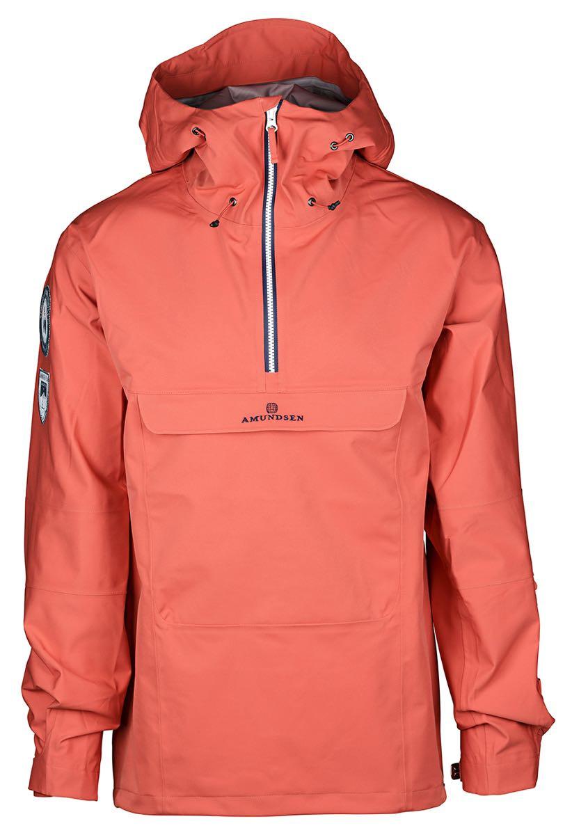 9e677f00 Amundsen Sport Peak Anorak Men's Weathered Red | Fjellsport.no
