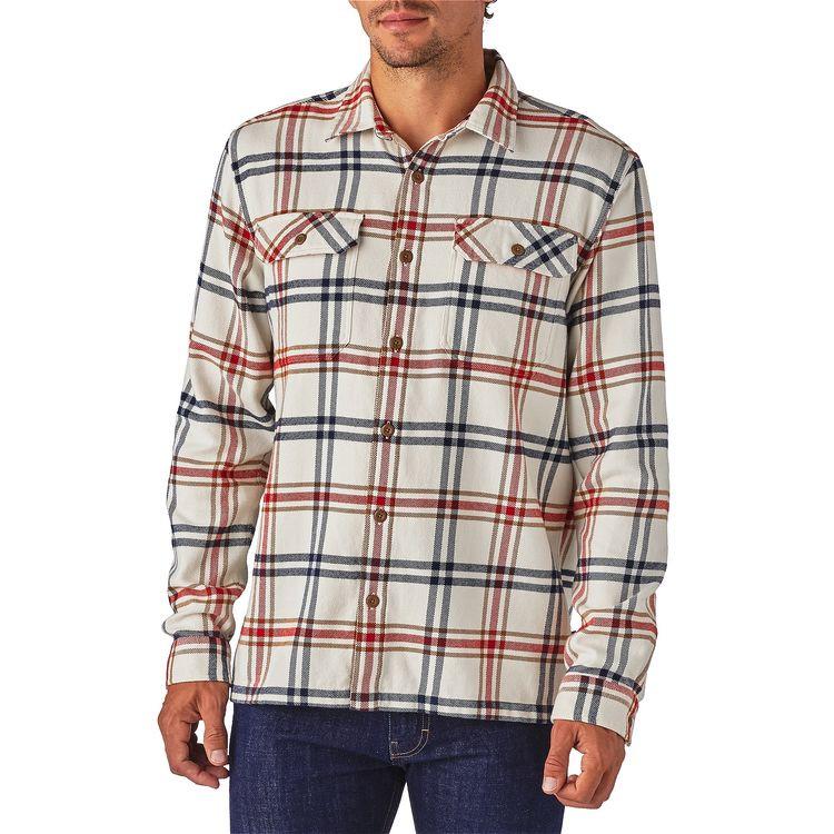 Patagonia herre LW Fjord Flannel skjorte Vandreskoen
