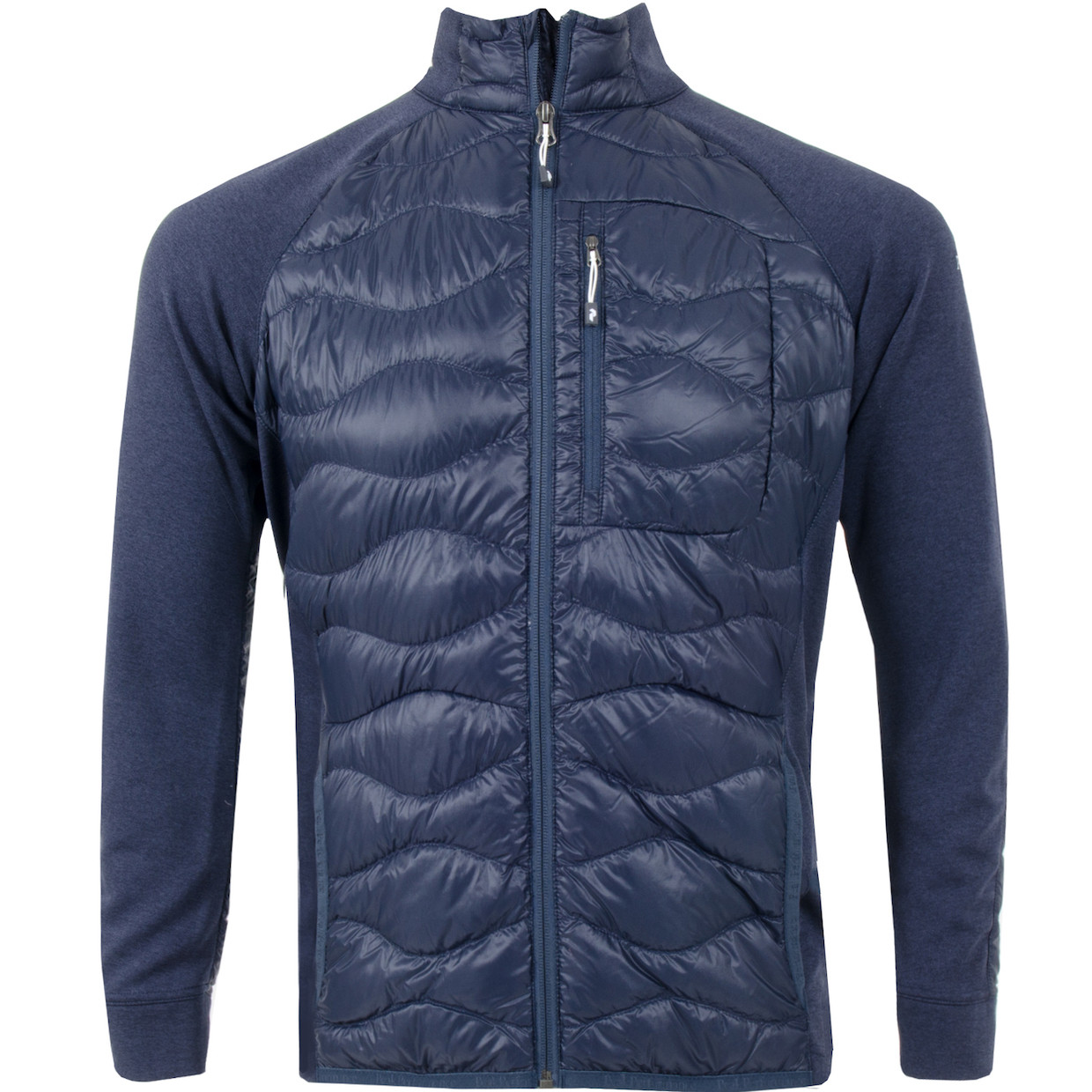 68fa2a5f Peak Performance Helium Hybrid Jacket Blue Shadow | Fjellsport.no
