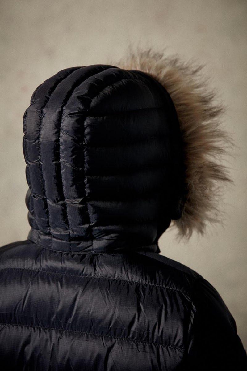 Sr. Anorak Vinter 14 Herre anorak jakke med pels