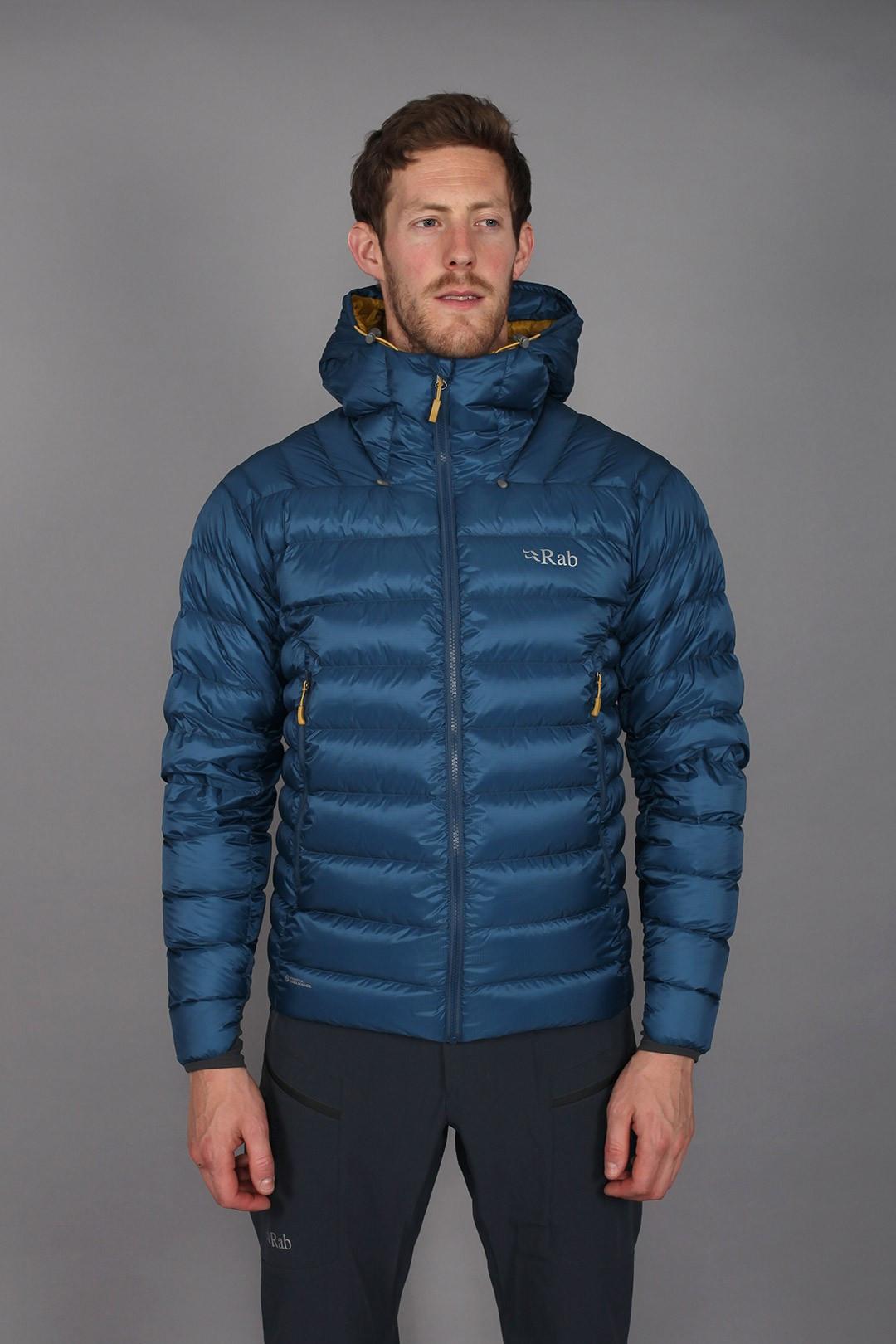 Rab Electron Jacket Pine   Fjellsport.no