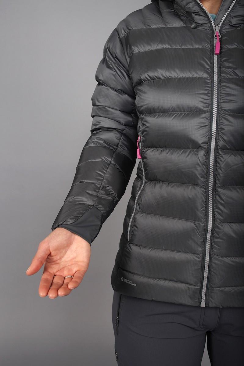 Electron Jacket, dunjakke dame