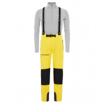 The North Face M Summit L4 Softshell Pant Canary Yellow/Tnf Black