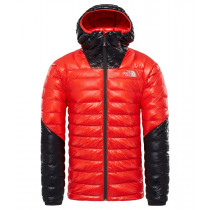 The North Face M Summit L3 Down Hoodie Fiery Red/Tnf Black