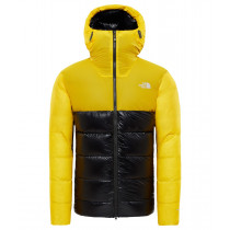 The North Face M Summit L6 Aw Down Belay Parka Canary Yellow/Tnf Black