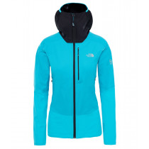 The North Face M Summit L4 Windstopper Hoody Bluebird/Tnf Black