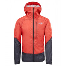 The North Face M Summit L5 Storm Jacket Fiery Red