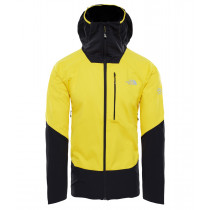 The North Face M Summit L4 Windstopper Hoody Canary Yellow