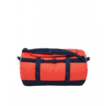 The North Face Base Camp Duffel-S Poinciana Orange/Urban Navy