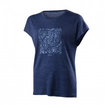 Houdini Women's Activist Message Tee Bitter Blue