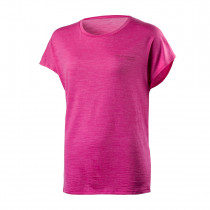 Houdini Women's Activist Message Tee Snappy Pink