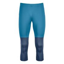Ortovox Fleece Light Short Pants Men's Blue Sea