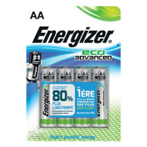 Energizer ECO Advanced 4stk Black AA/LR6/E91