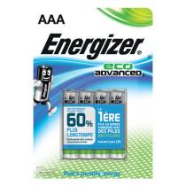 Energizer Eco Advanced 4stk Black AAA/LR3/E92