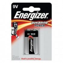 Energizer Alkaline Power 1stk Black 9V/522