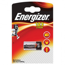 Energizer Lithium Photo 1stk Black CR123A