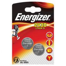 Energizer Lithium 2stk Black CR2430