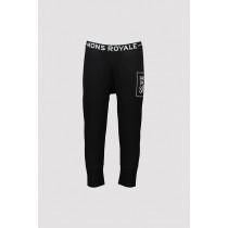 Mons Royale Shaun-Off 3/4 Legging Black