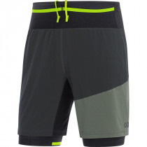 Gore® R7 2in1 Shorts Terra Grey/Castor Grey