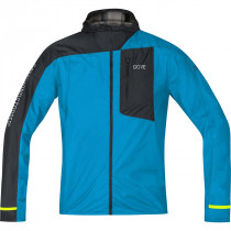 Gore® Wear R7 Gore® Windstopper® Light Hooded Jacket Dynamic Cyan/Black