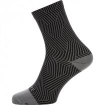 Gore® Wear Gore® C3 Optiline Mid Socks Graphite Grey/Black