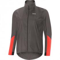 Gore® C7 Women Gore-Tex® Shakedry™ Viz Jacket Lava Grey/Lumi Orange