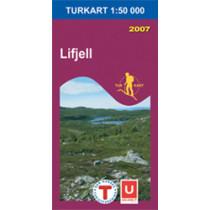 Turkart 2219 Lifjell 1:50.000