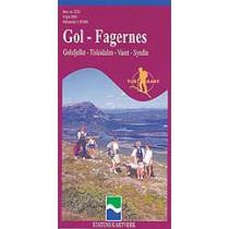 Turkart 2231 Gol Fagernes 1:50.000