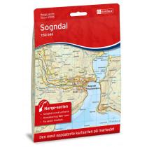 Nordeca Sogndal Norge-Serien 1:50 000