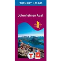 Turkart 2503 Jotunheimen Aust 1:50.000