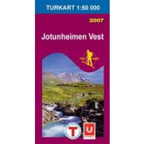 Turkart 2505 Jotunheimen Vest 1:50.000
